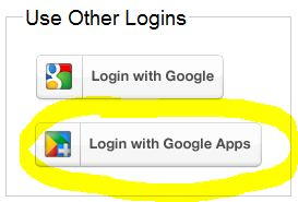 افزونه Google Apps Login