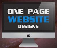 طراحی وب سایت تک صفحه ای