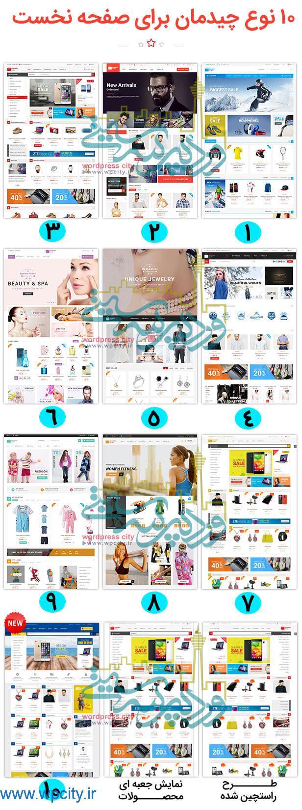قالب فروشگاهی ShoppyStore