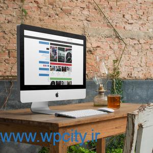 قالب خبری وردپرس videoblog