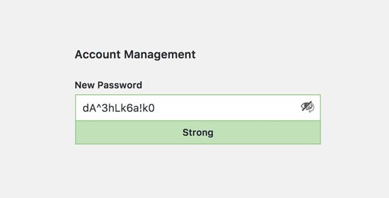تغییر کلمه عبور
