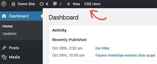 افزونه CSS Hero