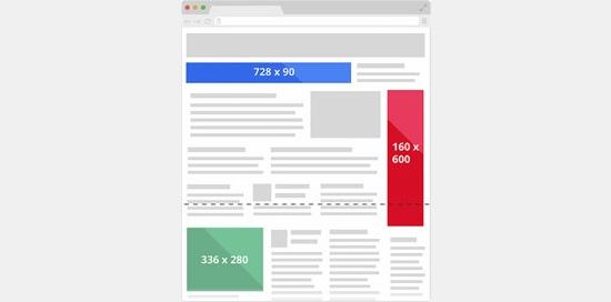 بنر Google AdSense