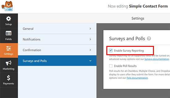 تبدیل هر فرم به یک نظرسنجی