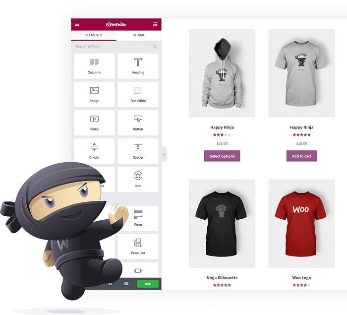 طراحی فروشگاه با Elementor Pro